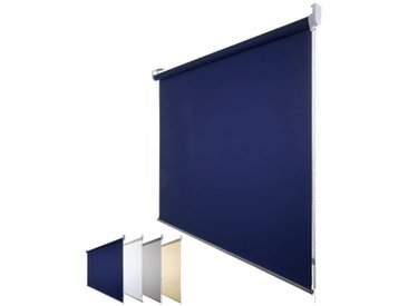 JalouCity Sichtschutzrollo Standard in blau 60 x 180 cm