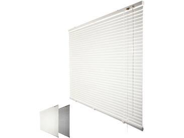 JalouCity Aluminium Jalousie Standard in weiß 130 x 240 cm