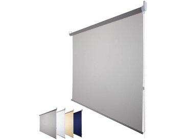 JalouCity Sichtschutzrollo Standard in grau 180 x 180 cm