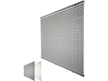 JalouCity Aluminium Jalousie Standard in silber 80 x 240 cm