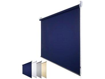 JalouCity Sichtschutzrollo Standard in blau 180 x 180 cm