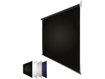 JalouCity Verdunkelungsrollo Standard in schwarz 130 x 230 cm