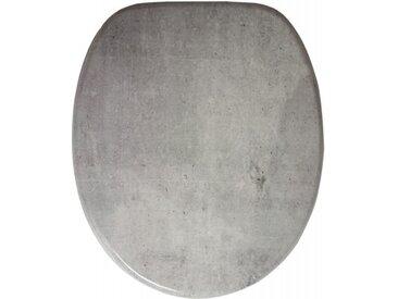 WC-Sitz mit Absenkautomatik Beton