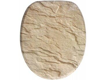 WC-Sitz mit Absenkautomatik Sand Stone