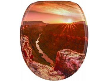 WC-Sitz mit Absenkautomatik Grand Canyon