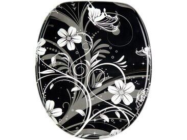 WC-Sitz mit Absenkautomatik White Flower