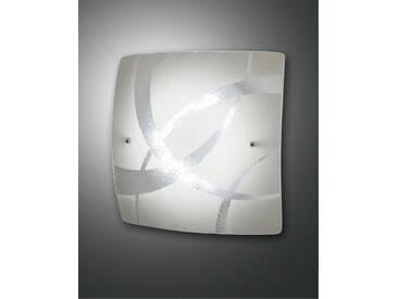 LED Deckenlampe weiß Fabas Luce Kymi 300mm 990lm 3000K