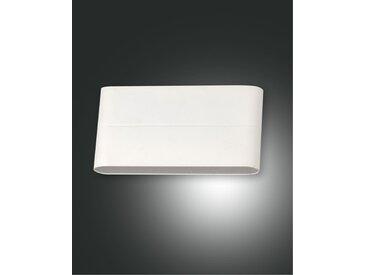 up down LED Wandaußenleuchte weiß Fabas Luce Casper 1300lm IP54