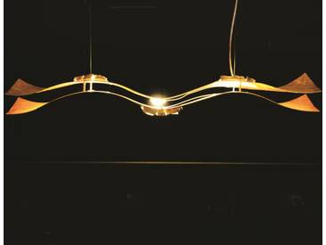 Knikerboker A tempo perso 100a3 design LED Pendelleuchte blattgold 100x20