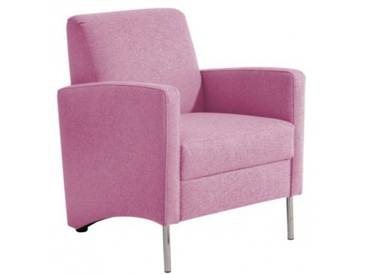 Mossano Sessel Loungesessel pink B 65 cm / T 78 cm / H 83 cm