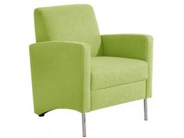 Mossano Sessel Loungesessel grün B 65 cm / T 78 cm / H 83 cm