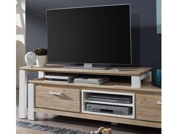 TV Aufsatz 140cm 'Buckley' Akazie weiß gebürstet
