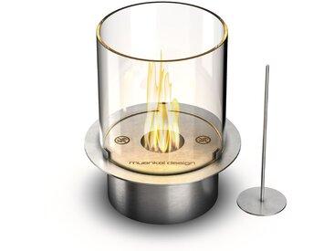 muenkel design round burner 250 [manueller Ethanol Brenner]