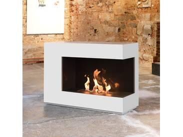 muenkel design loft.line -- C-01 [Design Ethanol Kamin]: Reinweiß (warm) - line burner 500