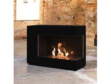 muenkel design loft.line -- C-01 [Design Ethanol Kamin]: Tiefschwarz - line burner 500