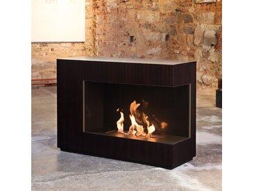 muenkel design loft.line -- C-01 [Design Ethanol Kamin]: Holzfurnier - line burner 500