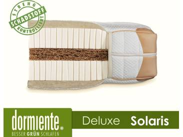 Dormiente Natural Deluxe Solaris Latex-Matratzen 120x200 cm medium Bezug 6A
