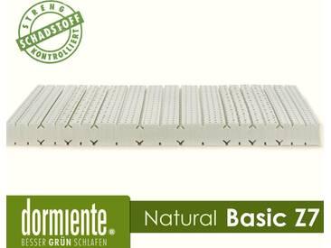 Dormiente Natural Basic Z7 Latex-Matratzen Male 80x200 cm Bezug 2A