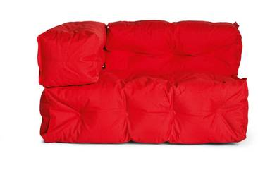 Sitting Bull Outdoor Couch II Links / 02 Rot