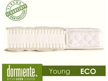 Dormiente NATURAL ECO Jugendmatratze 140x200 cm Bezug 3-SW