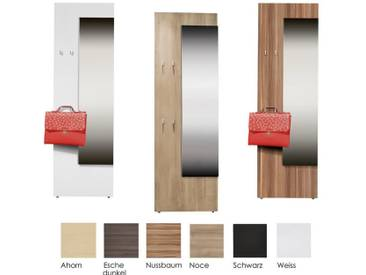 ArteM Garderoben Garderobenpaneel 3 Weiss