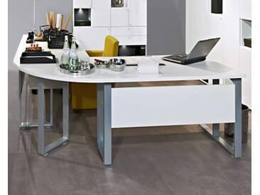 ArteM Schreibtisch Schreibtischplatte 120 cm Weiss