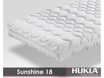 Hukla 7-Zonen Sunshine 18 Kaltschaum-Matratzen 200x200 cm H2