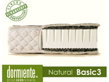 Dormiente Natural Basic 3 Latex-Matratzen 120x200 cm 3-BW