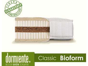Dormiente Natural Classic Bioform Latex-Matratzen 160x200 cm medium Bezug 4