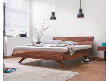 Dormiente Massivholz-Bett Gabo Buche 200x200 cm