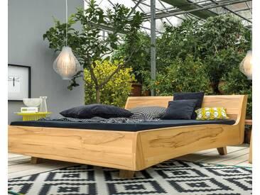 Dormiente Massivholz-Bett Balena Kirschbaum 200x200 cm