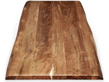SIT Tops & Tables Tischplatte Akazie Baumkante 160x85 cm / 3,6 cm