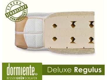 Dormiente Natural Deluxe Regulus Latex-Matratzen 200x200 cm fest Bezug 6A Female