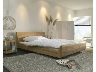 Dormiente Massivholz-Bett Mola Kernbuche 200x200 cm
