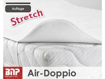 BNP Brinkmann Air-Doppio Stretch-Molton Matratzen-Auflage 200x200 cm