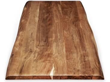 SIT Tops & Tables Tischplatte Akazie Baumkante 240x100 cm / 5,6 cm