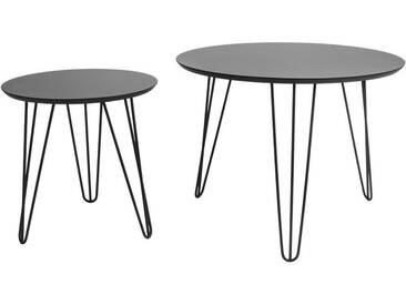 Present Time Tisch-Set Sparks Schwarz