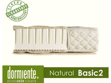 Dormiente Natural Basic 2 Latex-Matratzen Medium / 200x200 cm / 3-SW