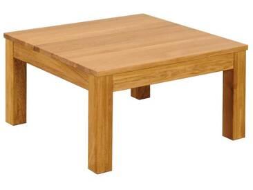 3S Frankenmöbel Massivholz Couchtisch Diez 80x80 cm / Wildeiche geölt