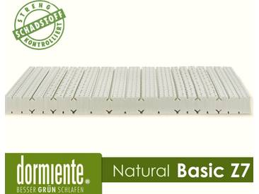 Dormiente Natural Basic Z7 Latex-Matratzen Male 180x200 cm Bezug 3-BW