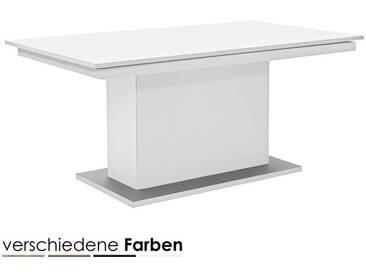 ArteM deck Säulen-Esstisch Eiche-dunkel 160 cm mit Funktion
