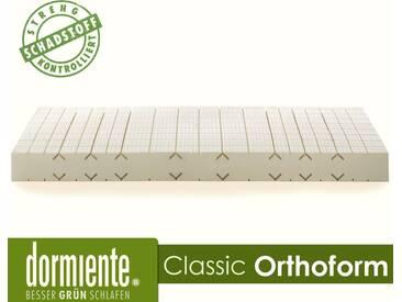 Dormiente Natural Classic Orthoform Latex-Matratzen Male 180x200 cm fest Bezug 4