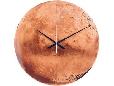 Present Time Wanduhr Mars aus Glas