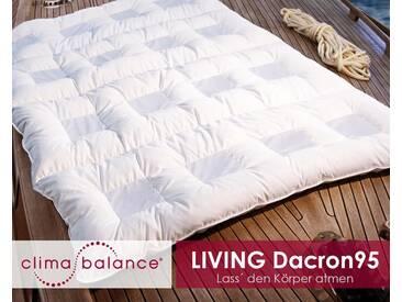 Sanders ClimaBalance Living Dacron95 Decken leicht / 200x200 cm / 570g