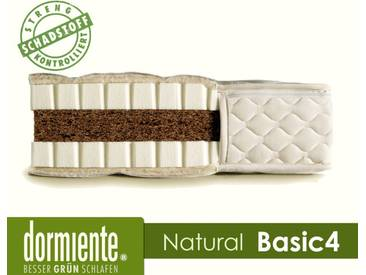 Dormiente Natural Basic 4 Latex-Matratzen 200x200 cm 3-TC