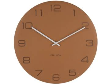 Present Time Wanduhr Vigorous Grau