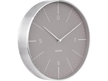 Present Time Wanduhr Normann Grau