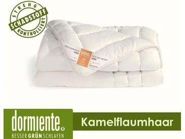 Dormiente Luxor Kamelflaumhaar Natur Bettdecken Deluxe 200x220 cm 2600g