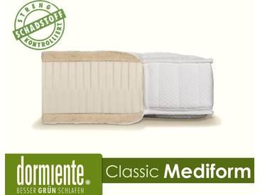 Dormiente Natural Classic Mediform Latex-Matratzen 200x200 cm fest Bezug 5-SW