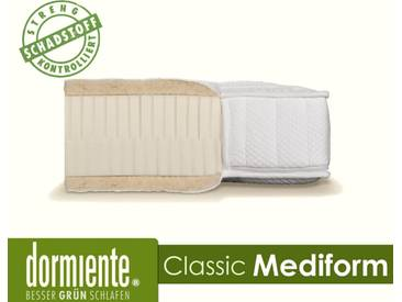 Dormiente Natural Classic Mediform Latex-Matratzen 140x200 cm fest Bezug 4